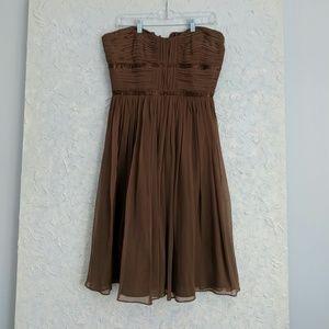 Laundry brown sleeveless dress